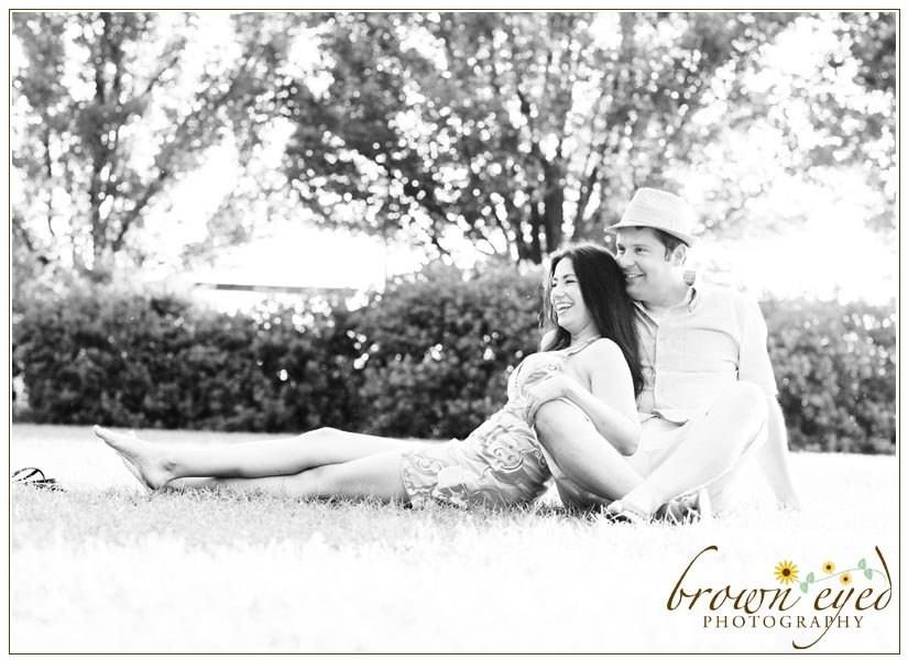 Engaged Erin And Stetson In Burlington