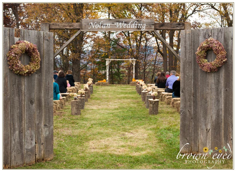 Rustic-wedding-door