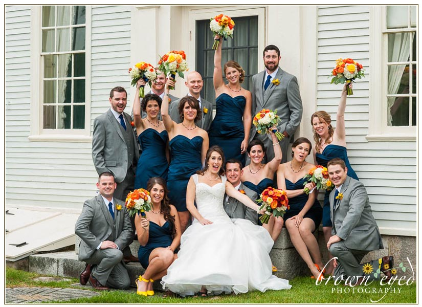 Wedding-Party-Hamilton-House-Maine