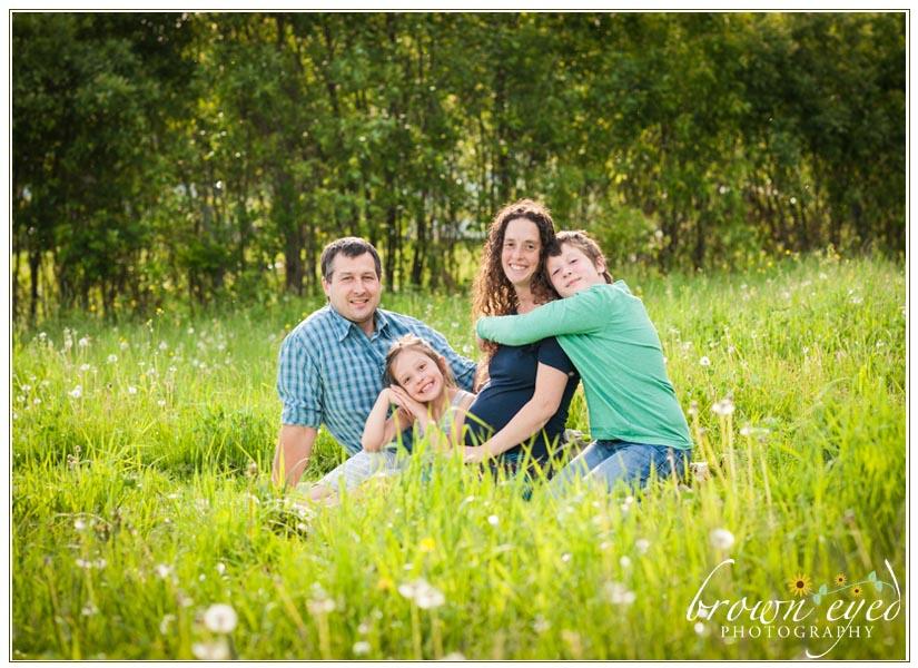 Saranac Family Maternity Photographer