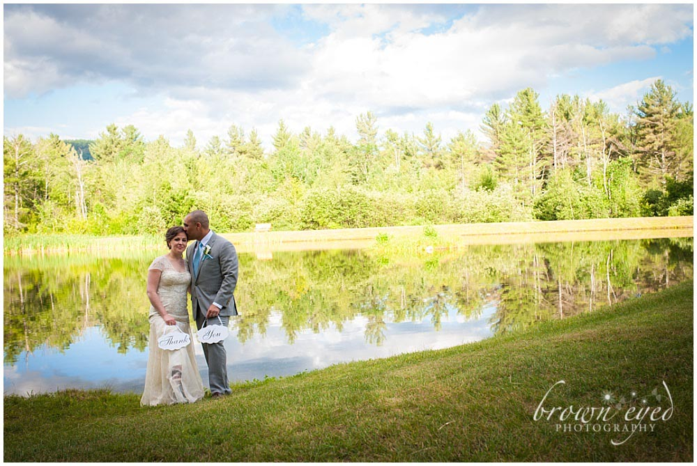 Taylor Rental Plattsburgh Wedding thank you Photo