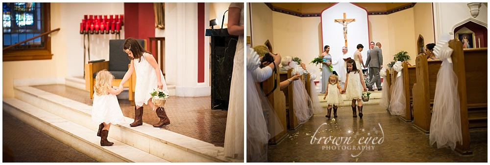 Holy Name Church flower girl Photo