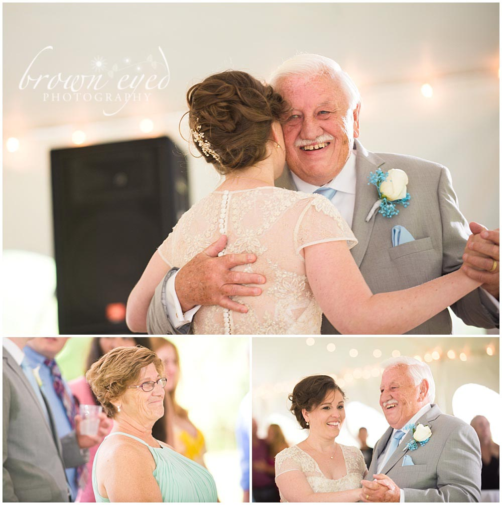 Taylor Rental Plattsburgh Wedding father-bride dance Photo