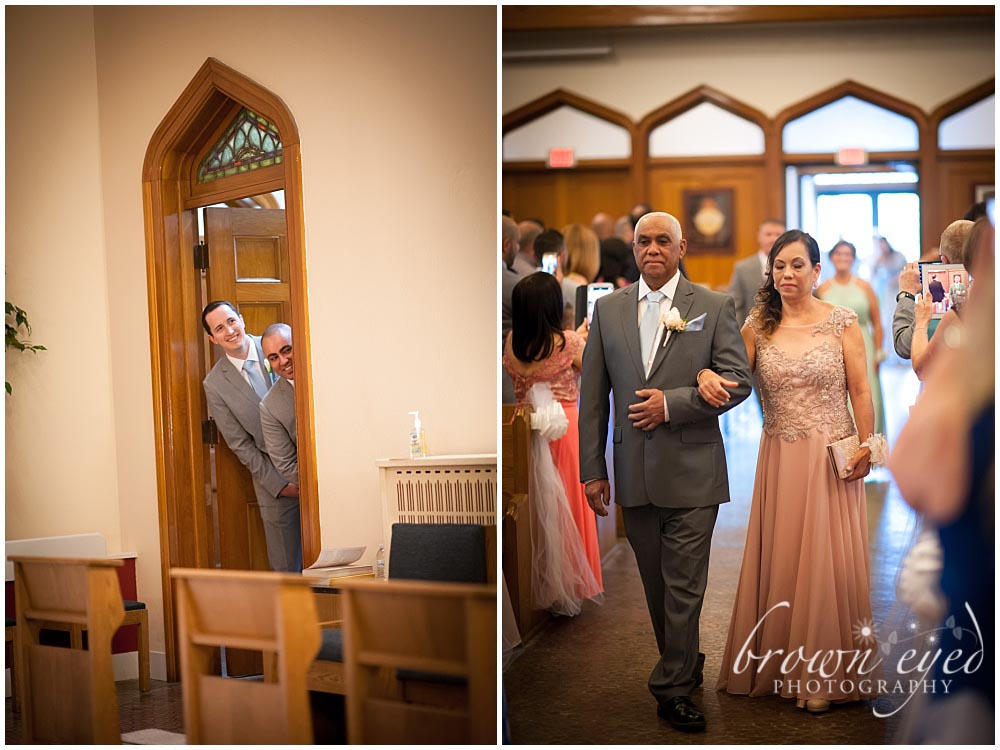 Taylor Rental Plattsburgh Wedding Holy Name Church Photo