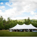 Taylor Rental Plattsburgh Wedding Tent Photo
