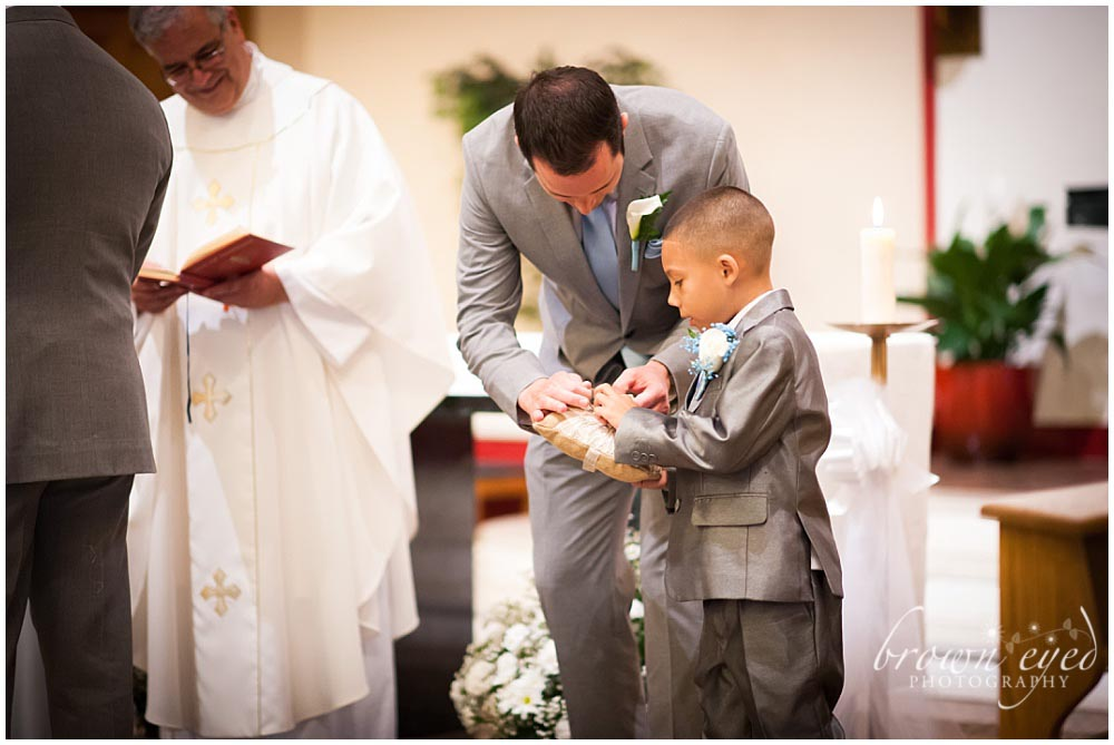 Holy Name Church Ring Bearer Photo