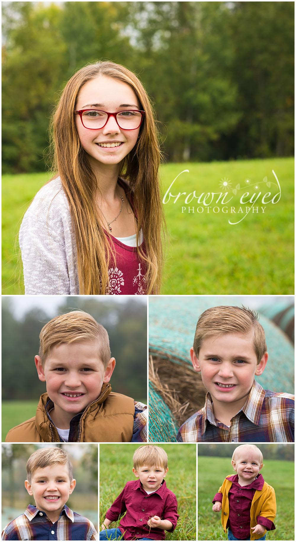 sibling headshots