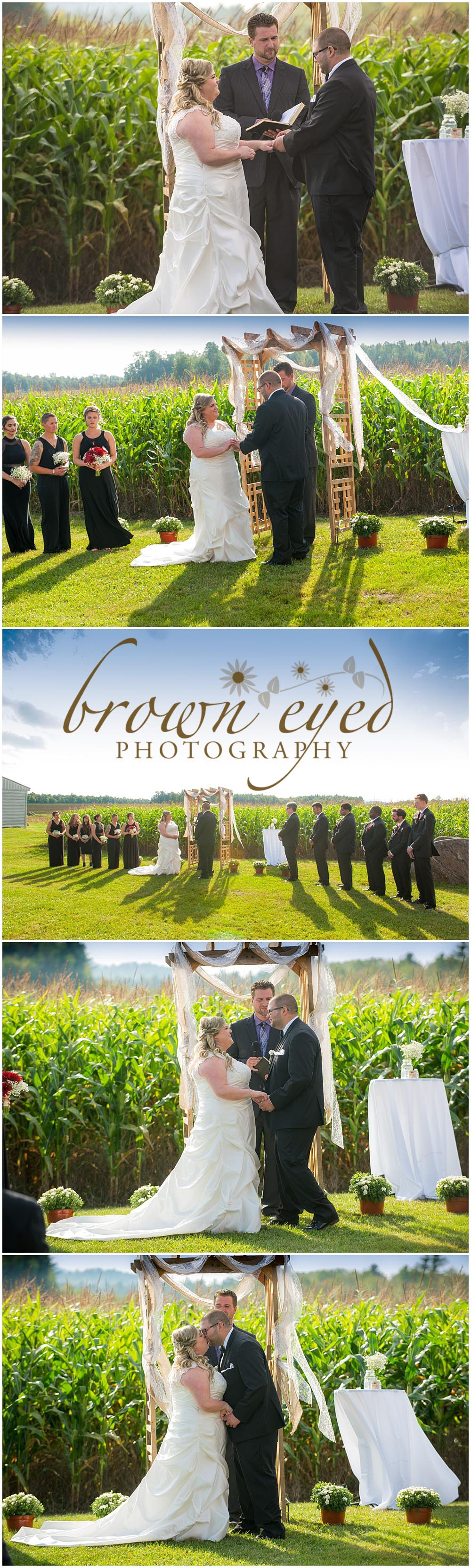 wedding at tucker farms in gabriels ny Adirondacks